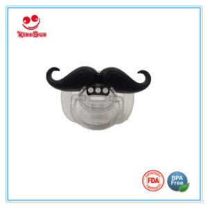 Funny Mustache Pacifier for Breastfed Baby pictures & photos
