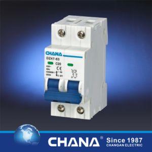 Ce CB Semko Certificated C45 Dz47-63 Mini Circuit Breaker MCB (C65 L7 NC) pictures & photos