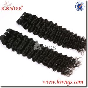 Top Grade Virgin Hair Weft Remy Indian Human Extension pictures & photos