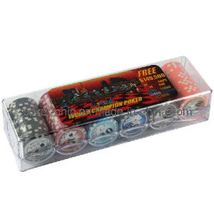 120PCS Poker Chip Set in Plastic Box (SY-S77) pictures & photos