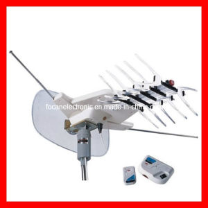 Outdoor HDTV Digital Aerial Rotating UHF/VHF/FM Antenna pictures & photos