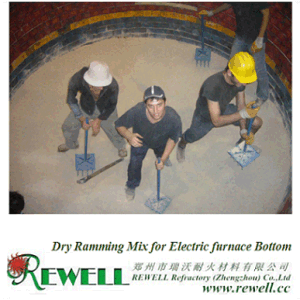 MGO Dry Ramming Mix for Electric Furnace Used pictures & photos