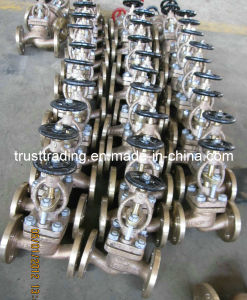 Bronze Flanged Stop Check Valve pictures & photos