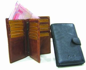 Men′s Genuine Leather Wallet/Purse/Bag (JYW-24044) pictures & photos