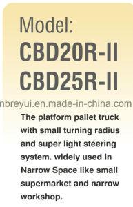 2.5t Electri Pallet Truck pictures & photos
