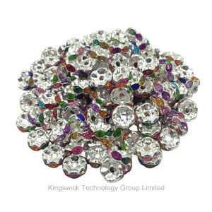 Wholesale Cheap Rhinestone Beads Spacer, Jewelry Rhinestone Bracelet Beads pictures & photos