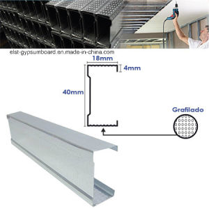 Steel Profile 40*18*0.5mm pictures & photos