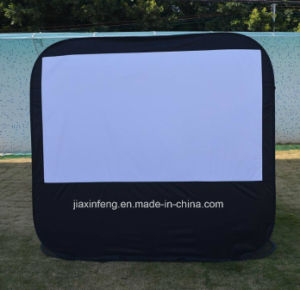 Pop up Screen with Detachable Base