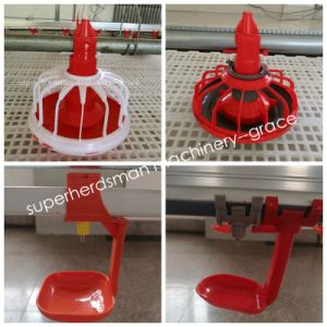 Automatic Poultry Feeders and Drinkers for Commercial Broiler Farm pictures & photos