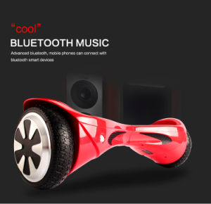 6.5inch Two Wheel LED Light Electric Scooter with Bluetooth Speaker pictures & photos