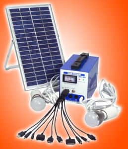 Portable LED Solar Lighting Kit Solar System pictures & photos