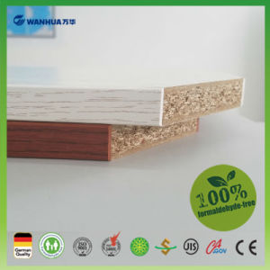 High Quality Melamine Faced Chipboard Particle Board for Sale pictures & photos