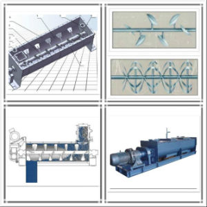 Continuous Industrial Chemical Dry Powder Mixer Machine pictures & photos