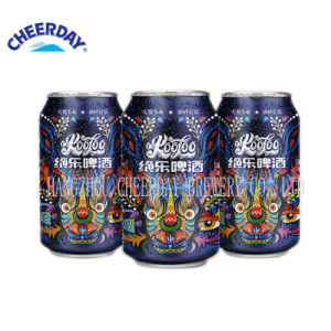 330ml Abv3.7% Chinese Wholesale Graffiti Canned Weissbier Beer pictures & photos