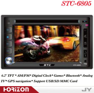 Car DVD Player STC-6805 Built in DVD Players for Cars, Car Stereo TV and DVD Player