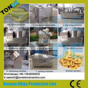 Gas Heating Stainless Steel Fried French Fries Production Line pictures & photos