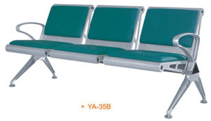 Metal Steel 3-Seaters Cheap Price Waiting Chairs for Salon (YA-35B) pictures & photos