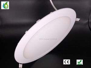 Epistar 2835SMD Recessed Mounted 3W 4W 6W 7W 9W 12W Super Slim Round LED Panel Light pictures & photos