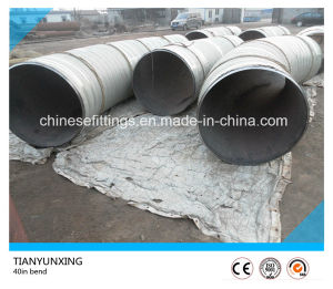 API 5L X60 5D Seamless 45 Degree Carbon Steel Pipe Bend pictures & photos