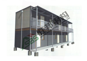 Low Cost Shower Container House pictures & photos