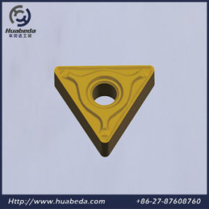 Coated Tungsten Carbide Cutting Insert, Cemented Carbide Turnining Inserts, TNMG pictures & photos