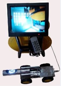 Industry Crawler Robots Camera for 80mm -- 500mm Pipe Inspection