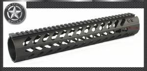 Vector Optics Keymod Tactical Rifle 12 Inch Free Float Handguard Mount Bracket with Detachable Rails Black Steel Barrel Nut pictures & photos
