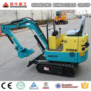 China Low Price Mini Farm Small Excavator with Ce pictures & photos