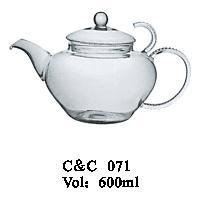 China Manufacturer FDA High Grade Borosilicate Glass Teapot pictures & photos