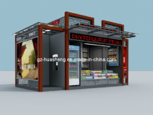 Aluminium Newspaper Kiosk Booth for Outdoor Advertising (HS-001) pictures & photos