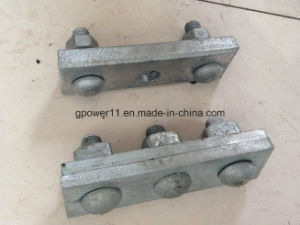 Galvanized Steel Guy Clamp with Straight Parallel Groove Clamp pictures & photos