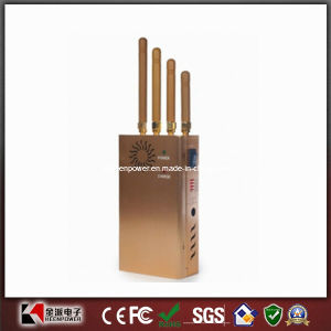 2014 New Handheld Four Bands Cell Phone Jammer GPS Jammer pictures & photos