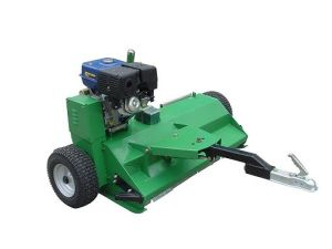 ATV120 Flail Mower with Gasoline Engine (for garden and parks using) pictures & photos