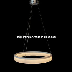Simple One Ring Acrylic LED Modern Pendant Light (AQ-66001-D600) pictures & photos