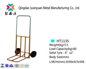 Foldable Hand Truck with PU Caster1135 pictures & photos
