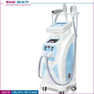 A0216 Multifunctional 4 in 1 IPL Opt Hair Removal Laser Tattoo Hifu Face Lifting Machine pictures & photos