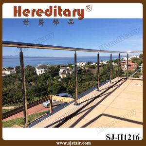 Manufacturer Custom Stainless Steel Cable Balustrade for Balcony Handrail (SJ-S055) pictures & photos