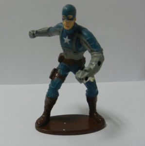 Plastic Toy Captain America Figurine