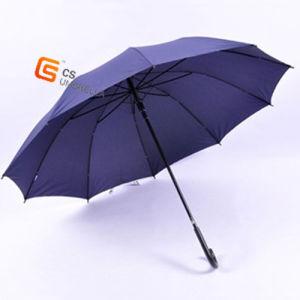 Blue Black Electro Metal Frame Umbrella for Men (YS-1012A) pictures & photos