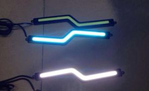 High Quality Ice Blue COB LED Daytime Running Light pictures & photos