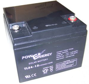 Tl24-12 12V24ah Solar Battery pictures & photos