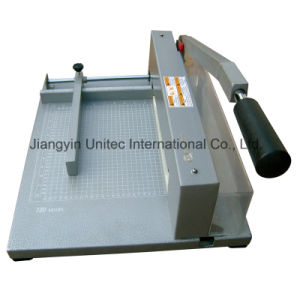 Chinese Novel Products Manual Paper Cutter Guillotine Machine Xd-320 pictures & photos