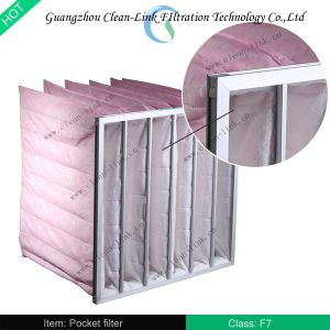 85% Nonwoven Pocket Filter (F7) pictures & photos