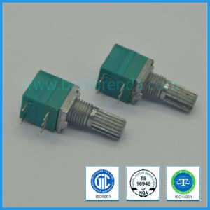 9mm Rotary Potentiometer with Switch for Mixer pictures & photos