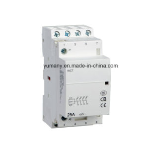 Household Modular Electric AC Contactor (WTC-25A 4P) pictures & photos