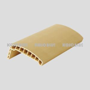 Solid PVC Foamed Wood Plastic Composite Door Jamb Architrave (MT-8025) pictures & photos