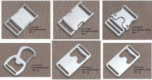 Hot Cheap Metal Insert Buckle pictures & photos