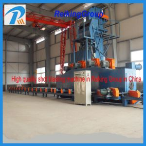 Inner Outer Wall Shot Blast Cleaning Machine with Abrasive Recovery pictures & photos