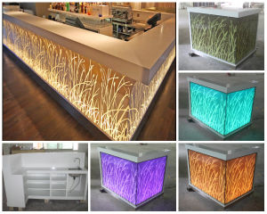 Artificial Marble Modern Bar Counter for Nightclub pictures & photos