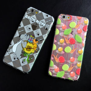 High Quality Level Flat Printing PC Made iPhone 7 7plus Cell Phone Case pictures & photos